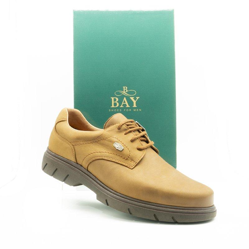 Zapatos Derby impermeables e hidrofugados. Modelo c510 color Marrón. Zapatos BAY Mallorca.
