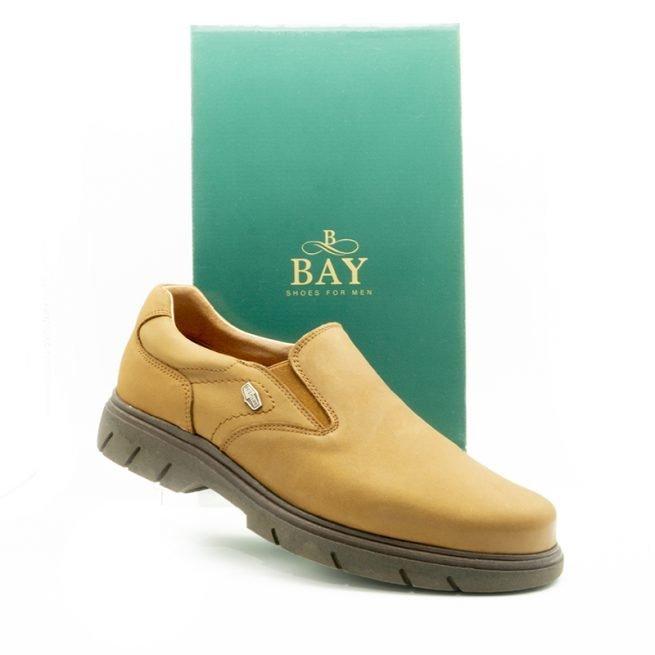 Mocasín impermeables e hidrofugados. Modelo c511 Marrón. Zapatos BAY Mallorca.