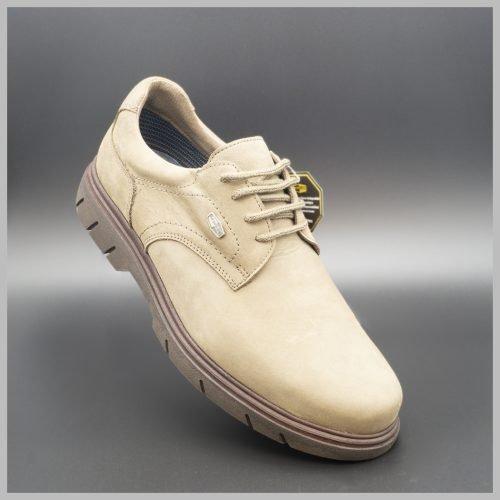 Zapatos Derby impermeables e hidrofugados. Modelo c510 Caqui Gris. 2020 BAY Mallorca.