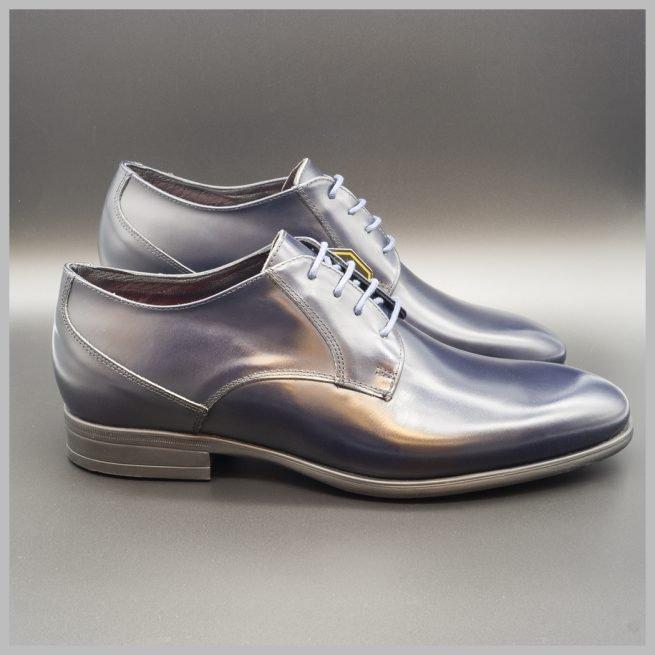 Zapato waterproof, Derby impermeable azul