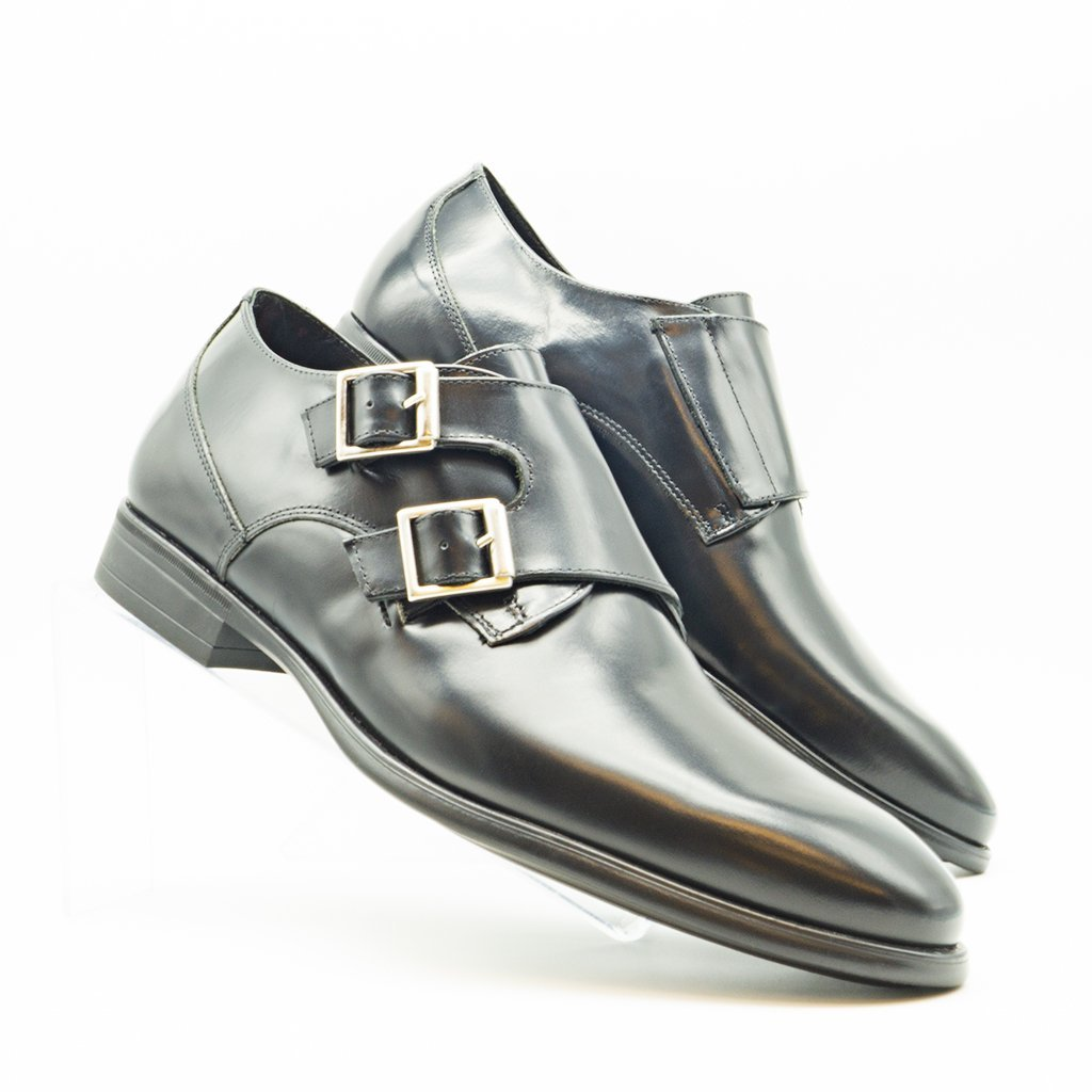 Monk strap. Zapatos BAY doble hebilla.